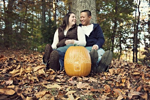 Wedding Engagement Pictures Photos wedding engagement fall pumpkin
