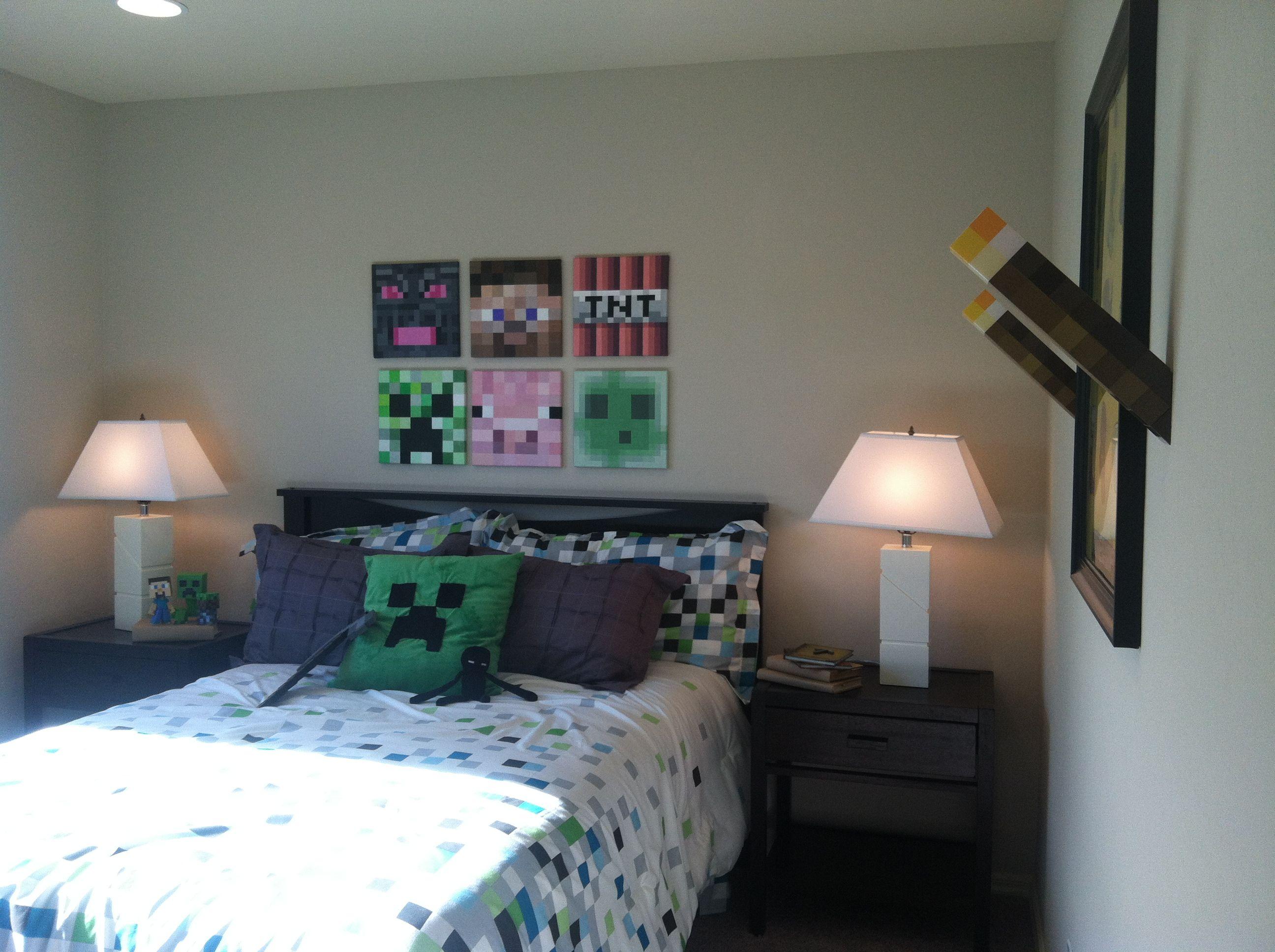 Kids Bedroom On Minecraft minecraft boys room | :: kid's room :: | pinterest | room, kids
