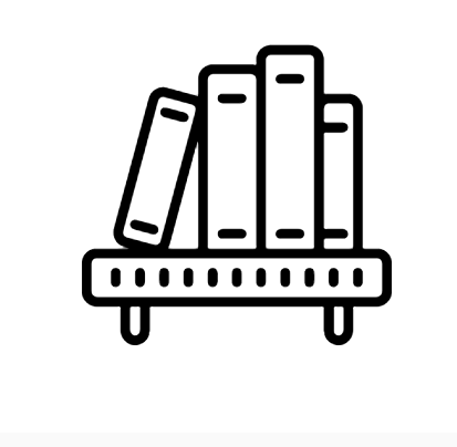 Book Shelf Icon This Page Contains The Vector Icon As Well As Variations Of This Icon In Different Visual Styles And Related Icons Book Icons Icon App Logo
