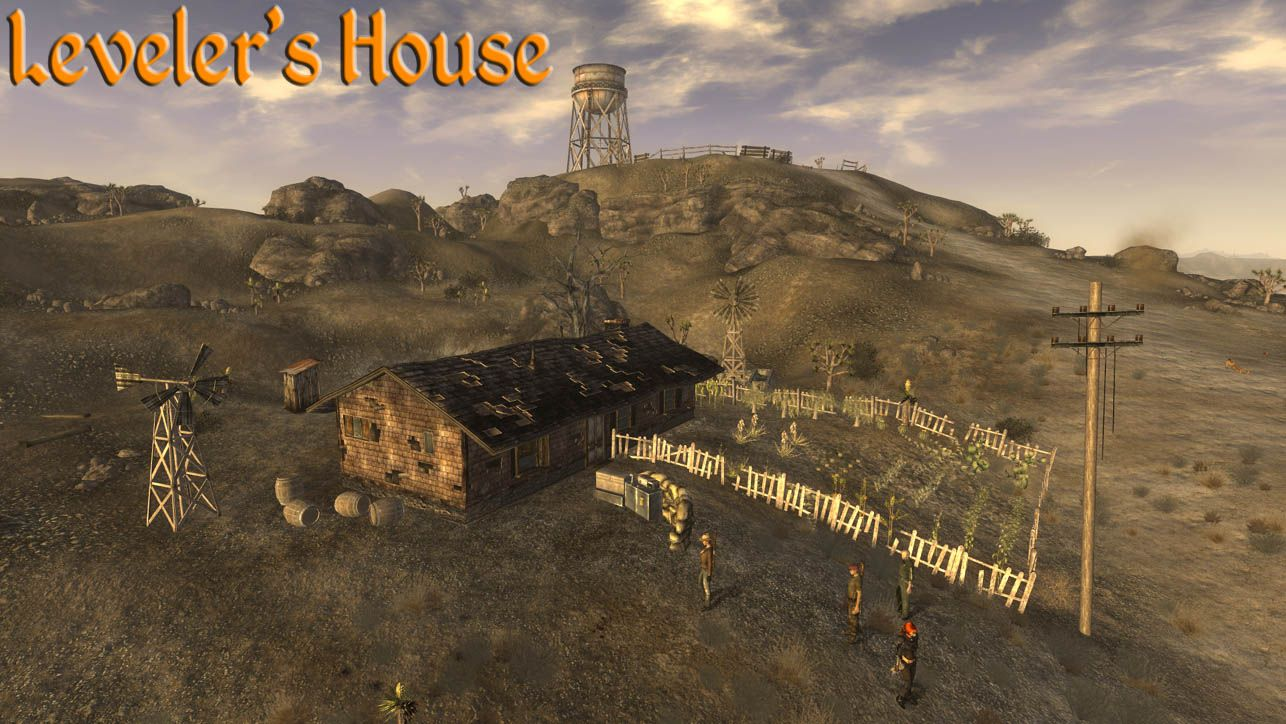Levelers House V13 At Fallout New Vegas Mods And Community Fallout New Vegas Fallout Mod