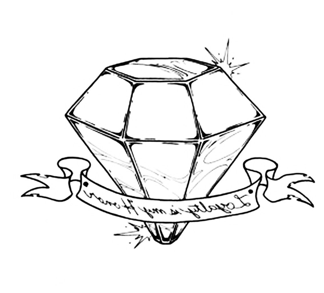 Diamond Tattoos Designs Ideas And Meaning For
