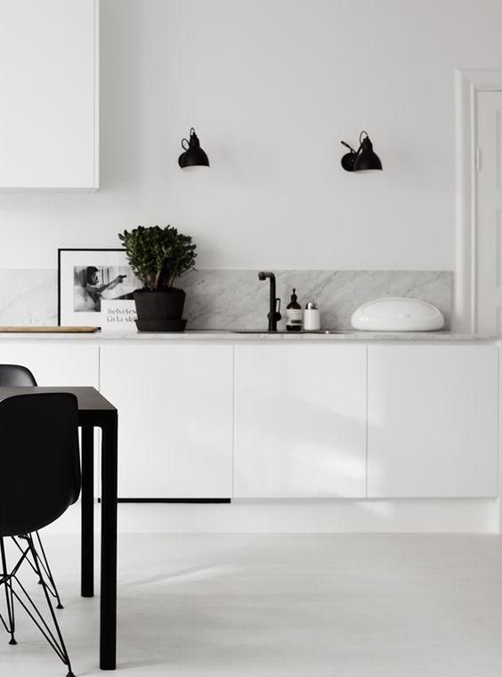 Photo of 60 dekorierte weiße Küchen – schöne Fotos – Neu dekoration stile