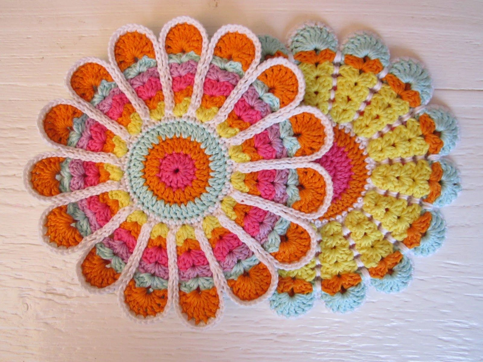 Crochet Flowers Free Patterns The Best Collection | Flores en ...