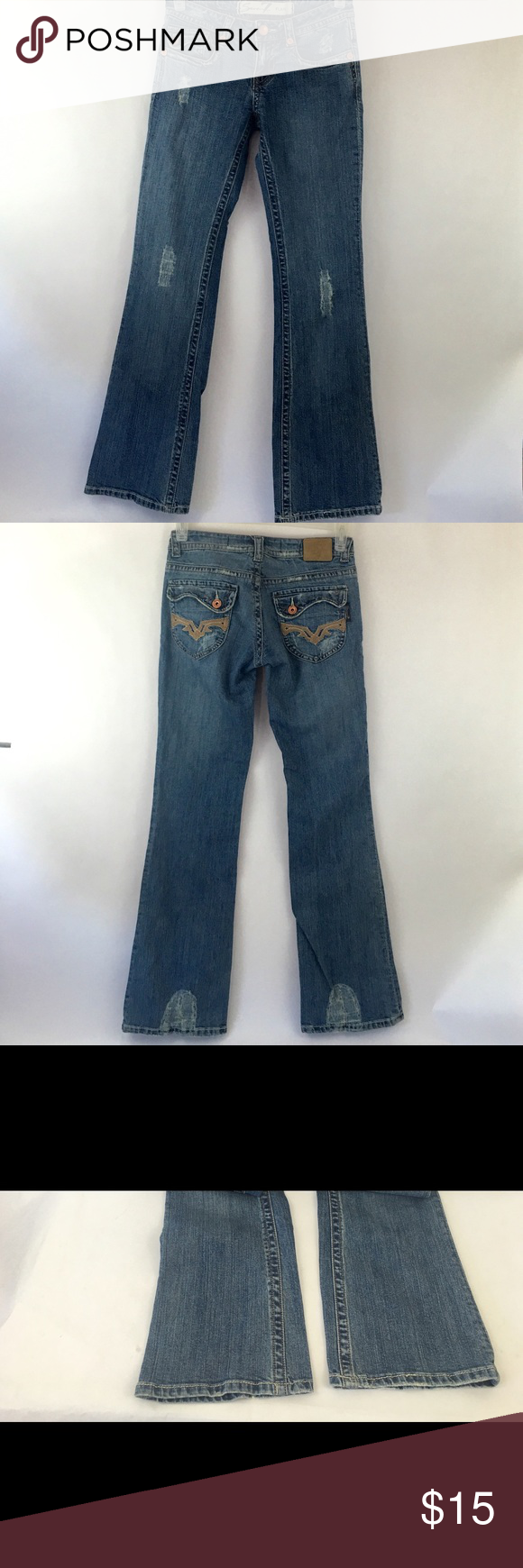 "Seven Jeans Women's Flare Jeans Size 28 Seven 7 Jeans Women's Flare size 28. Inseam 31.5"", Length 41"", Waist 15.5"". Great with heels! Seven7 Jeans Flare & Wide Leg"
