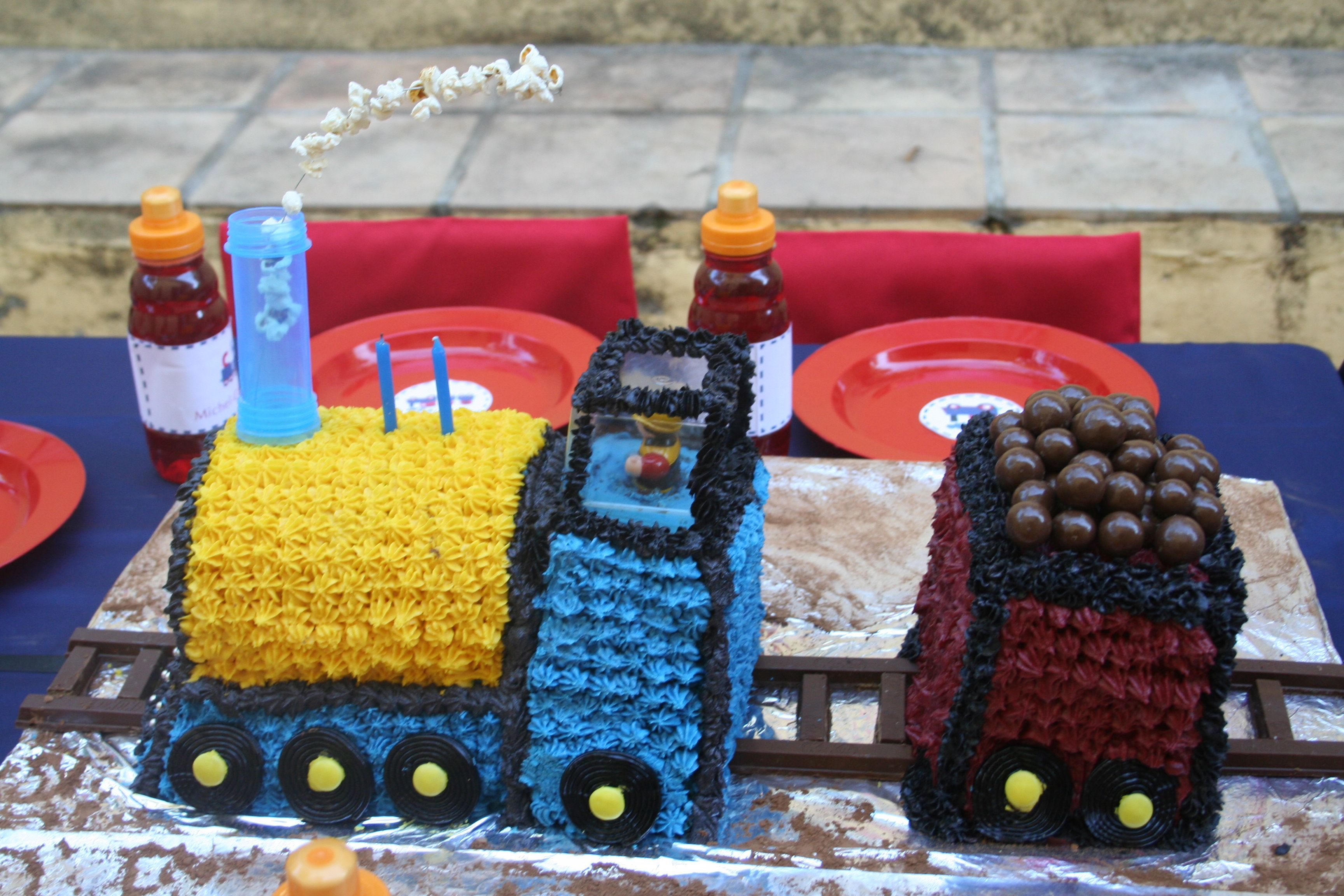 Cake and carriage
