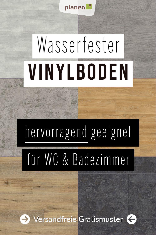 Vinylboden Fur Badezimmer Wasserfest Wie Fliesen Aber Fusswarm Geprufte Qualitat Aber Badezimmer In 2020 Vinylboden Vinylboden Fliesenoptik Vinyl Designboden