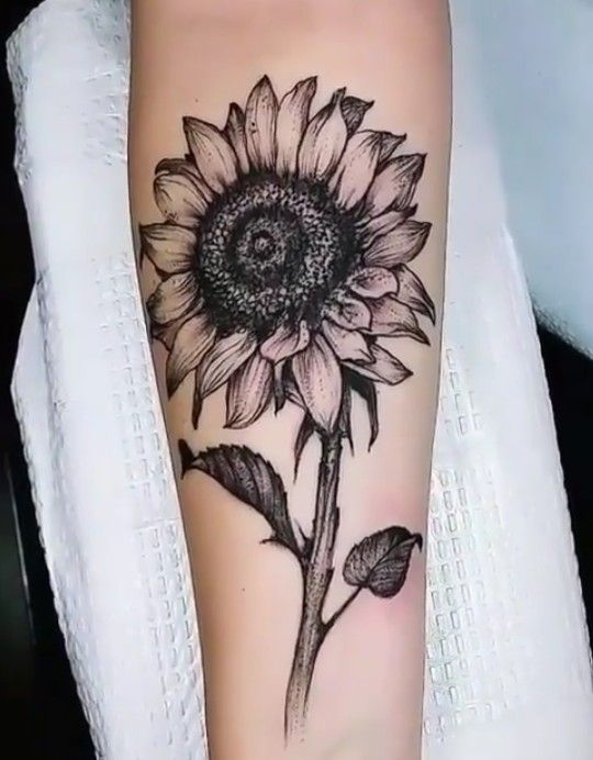 Photo of Sunflower Tattoo