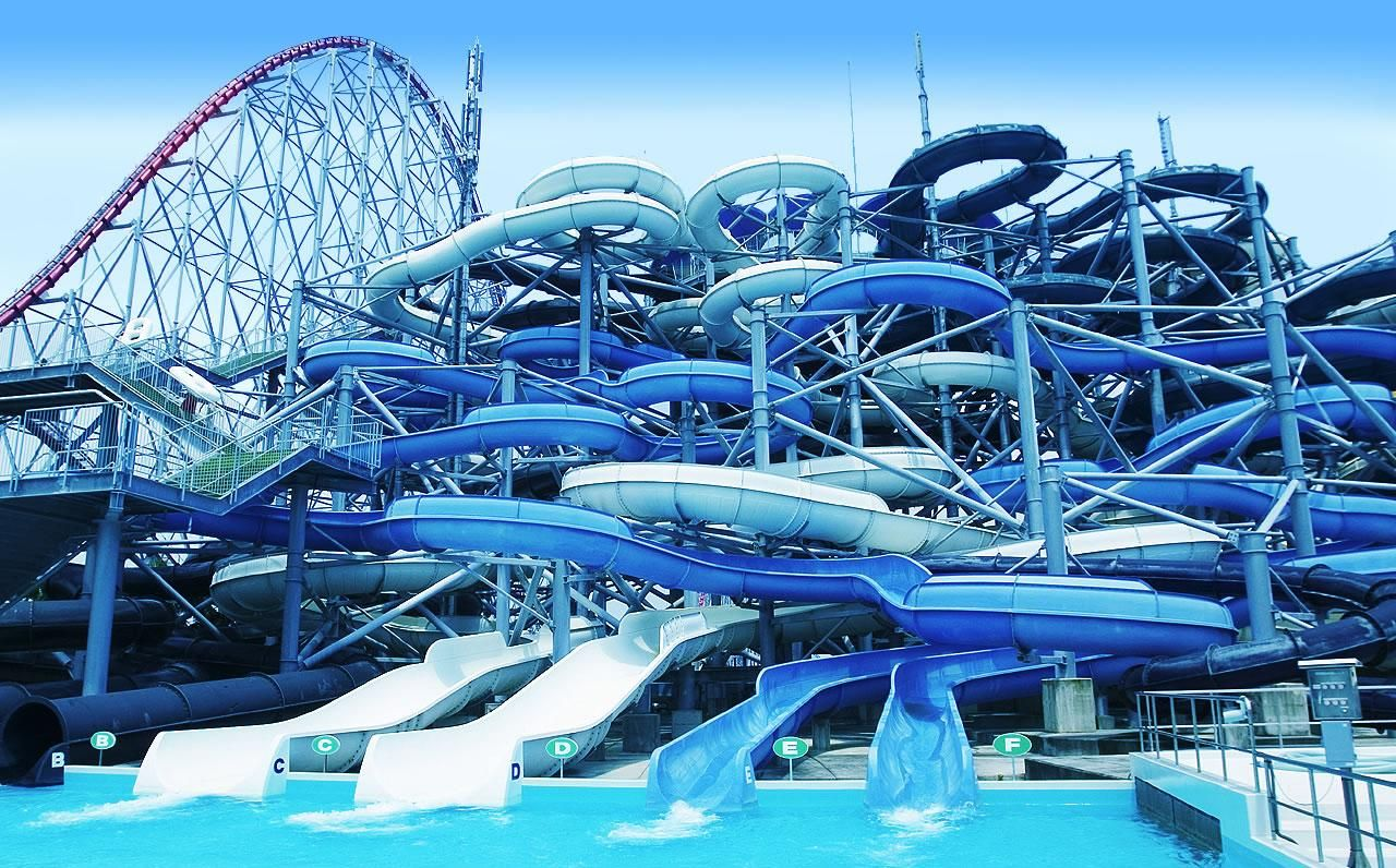World Largest Warter Slide Understand Why It S Name Is The Insano I Mean Come On Look At Water Slides Cool Water Slides Waterslides