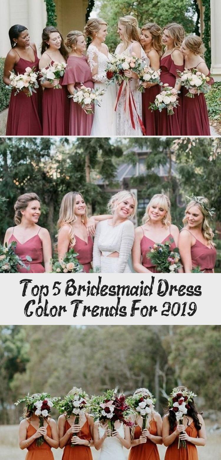 Top 5 Bridesmaid Dress Color Trends For 2019 - Clothing #sagegreenbridesmaiddresses trending sage green bridesmaid dresses #GrayBridesmaidDresses #BlushBridesmaidDresses #BridesmaidDressesCoral #BridesmaidDressesNavy #BridesmaidDressesStyles #sagegreenbridesmaiddresses