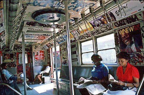 Subway in 1980s |