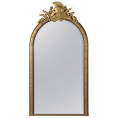 Pair of Chippendale 'Director' Style Chinoiserie Mirrors For Sale at 1stdibs