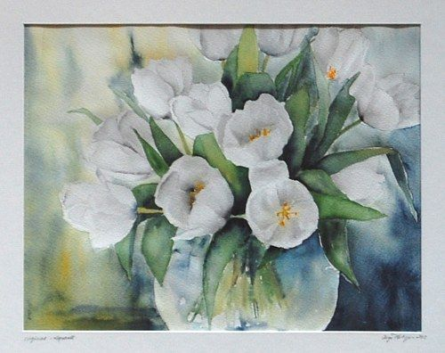 Philippin Inge Tulpen In Vase 168 With A Click On Send As Art