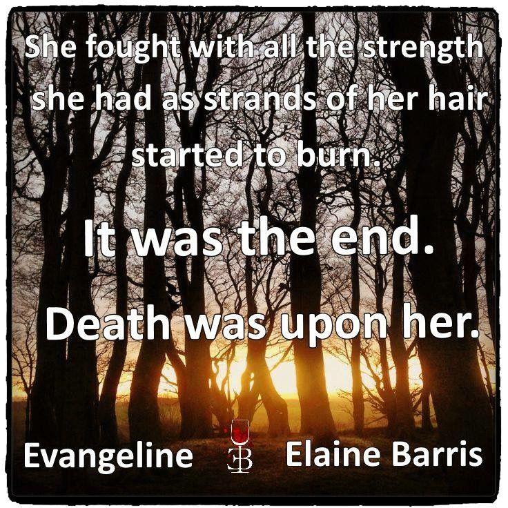 Teaser from the novel Evangeline by Elaine Barris