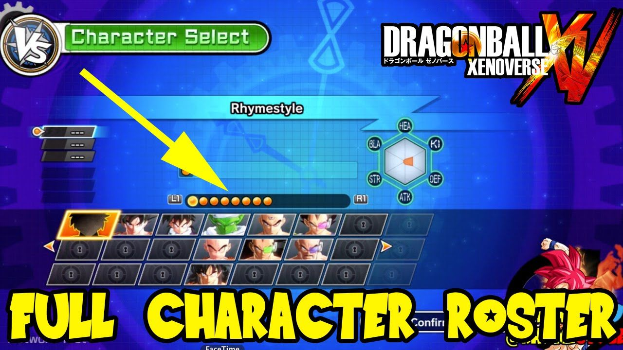 Dragon Ball Xenoverse Full Character Roster Prediction 47