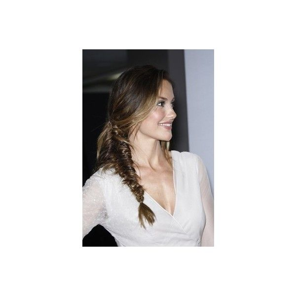 How to make a fishtail braid ❤ liked on Polyvore