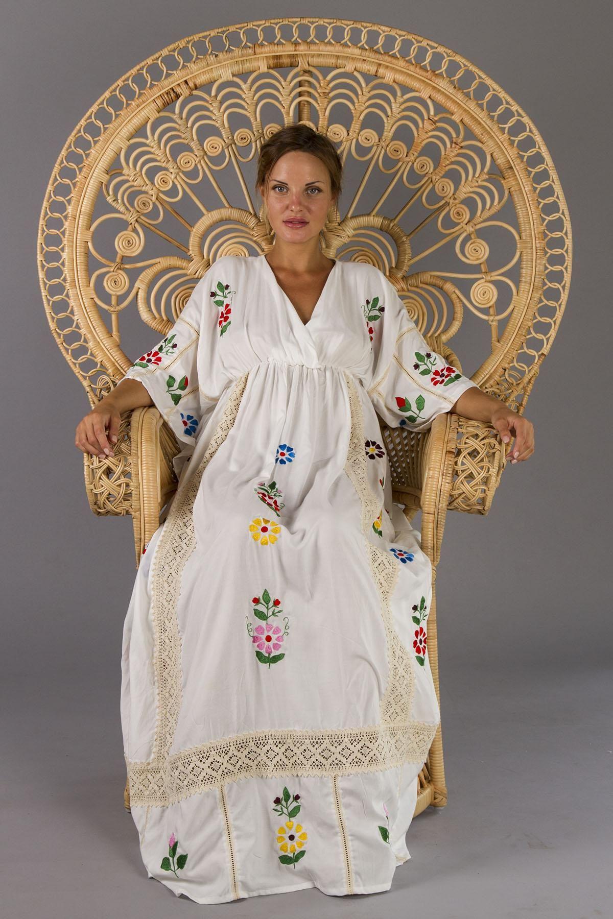 Bermain maternity maxi dress folk style embroidery with crochet bermain maternity maxi dress folk style embroidery with crochet fillyboo boho inspired ombrellifo Image collections