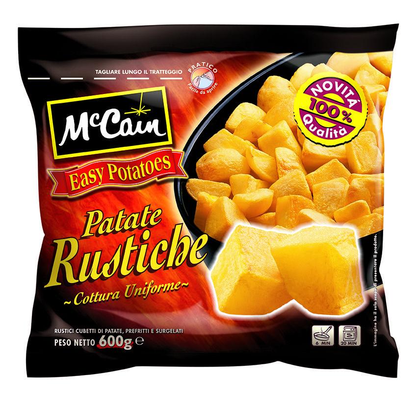 McCain Frozen Potatoes | Packaging Design