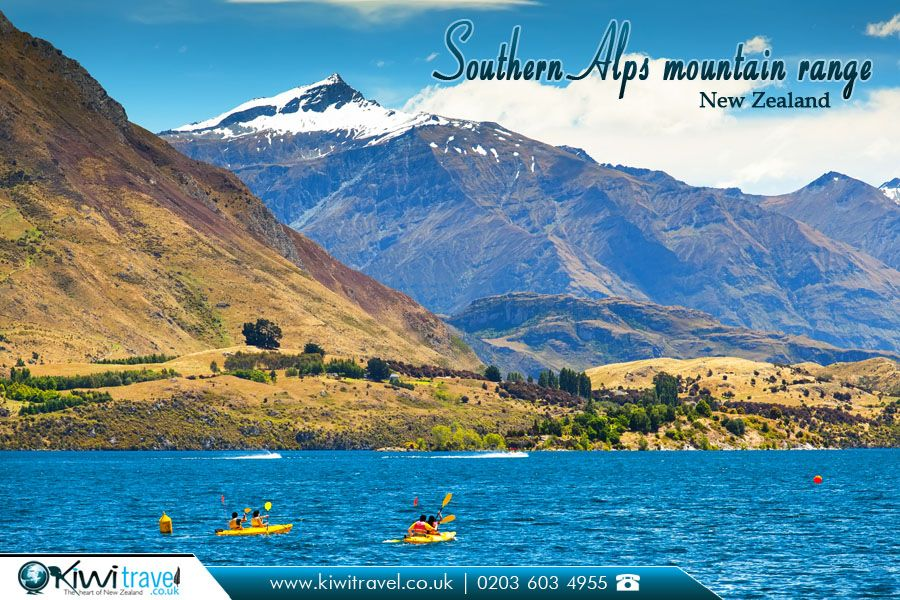 Southern Alps mountain range, New Zealand: | The #Southern ...