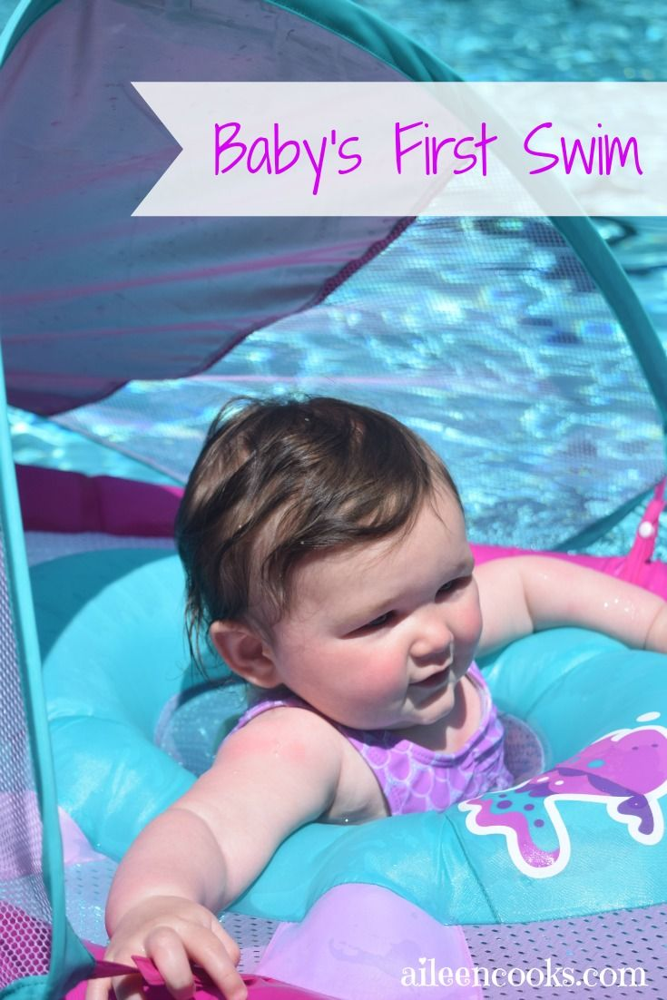Make your baby's first trip to the pool easy and fun! See