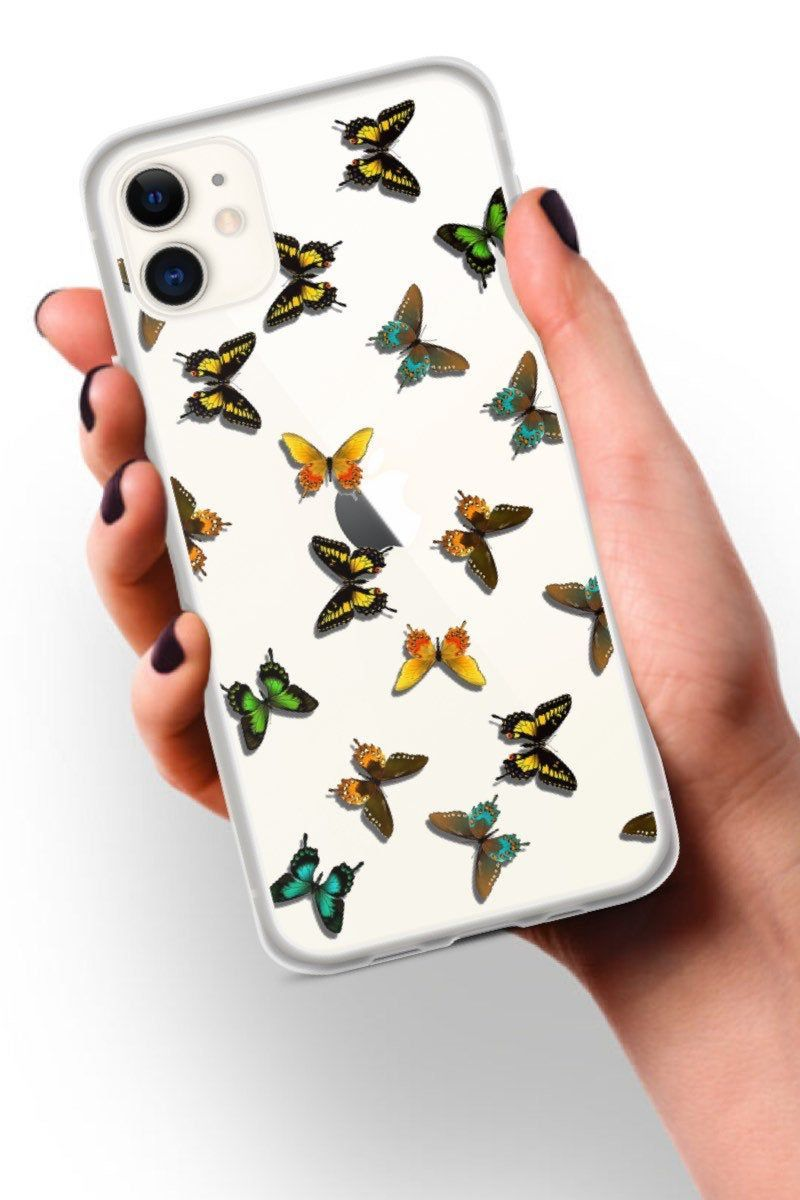Butterfly iphone 11 case clear iphone 11 pro case