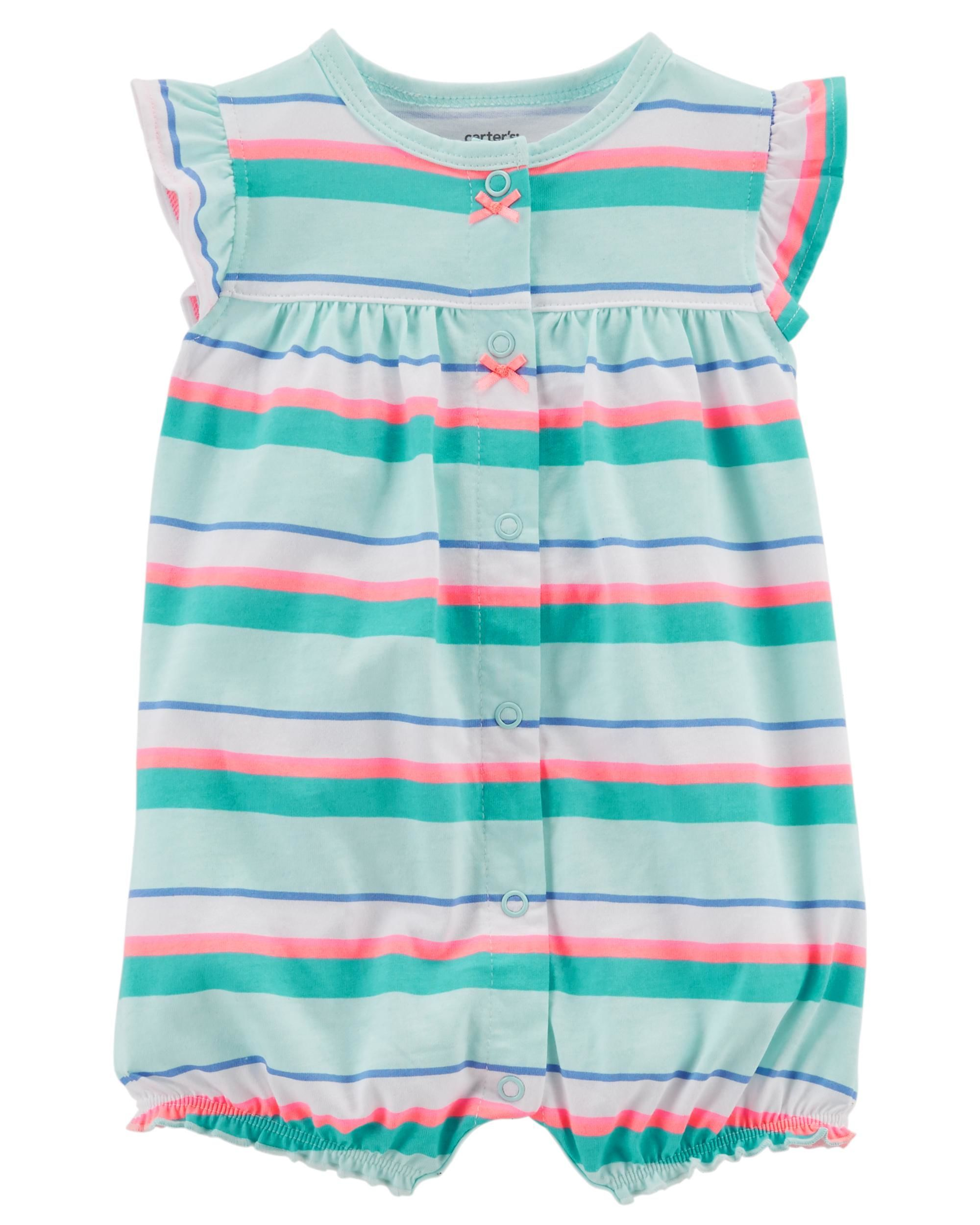 a10f504bb Crab Snap-Up Cotton Romper | Cute stuff for the kids | Carters baby ...