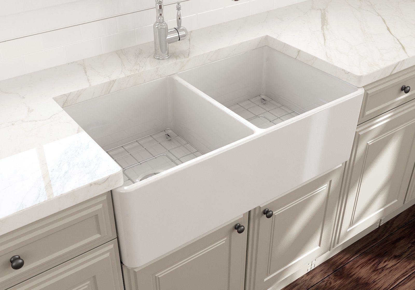 White Kitchen Sink Grid
