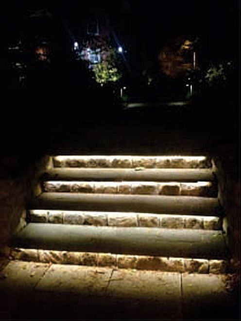 Led Tape Light Need Outdoor Waterproof Kind Stair