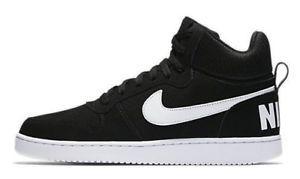 huge discount 77f7f b1551 a nike zapatillas de hombre baloncesto court borough medio negro blanco