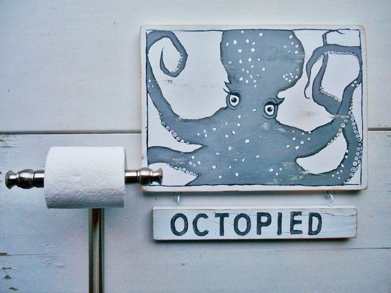 Nautical Octopied/Unoctopied Flip Sign By Searchnrescue2