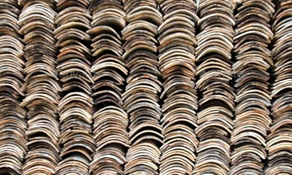 Stack Of Old Roofing Tiles Texture Photo Tiles Texture Roofing Roof Tiles