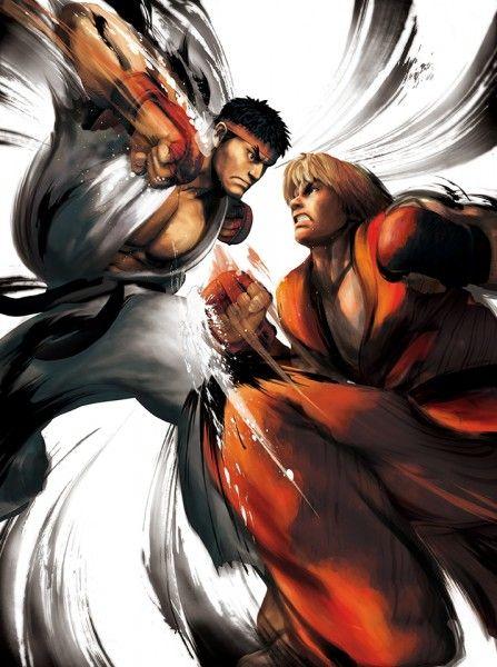 Street Fighter Iv Ryu Vs Ken Poster Street Fighter