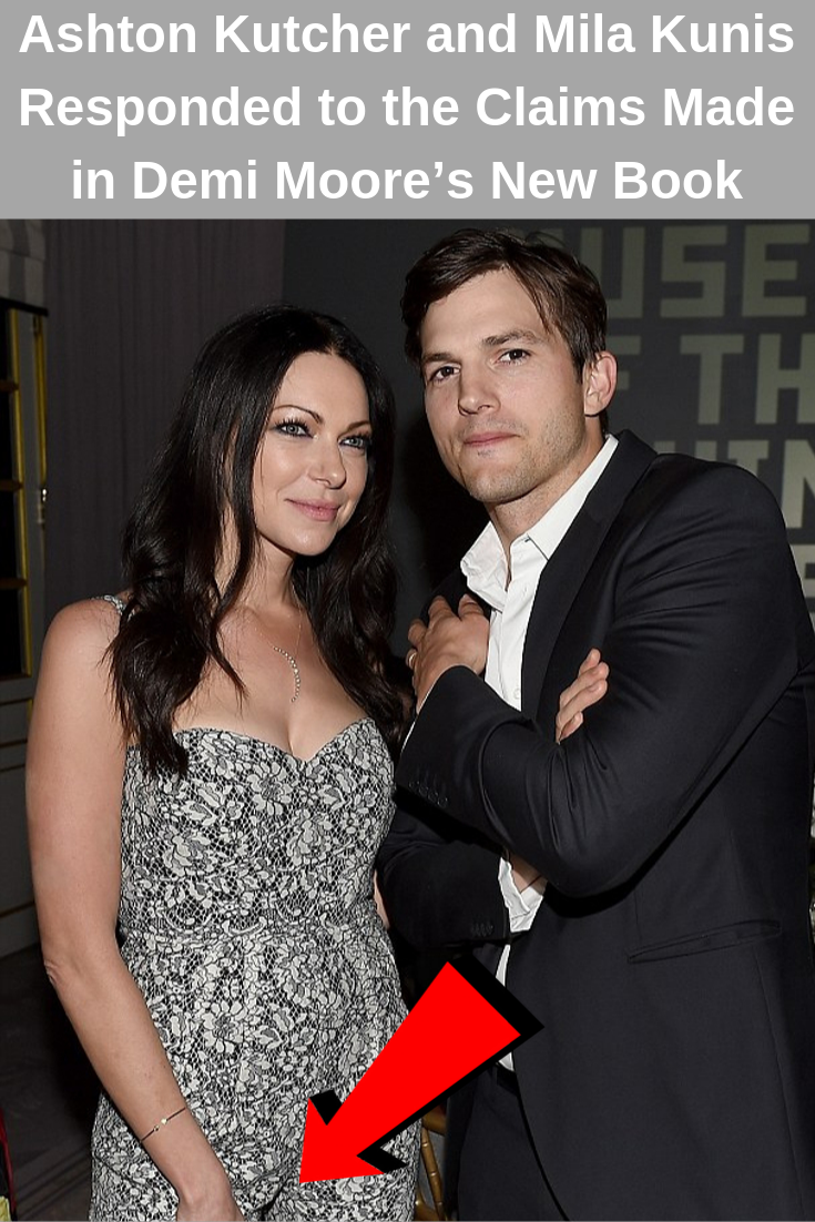 Ashton Kutcher And Mila Kunis Responded To The Claims Made In Demi Moore S New Book Demi Moore Celebrity Divorce Celebs