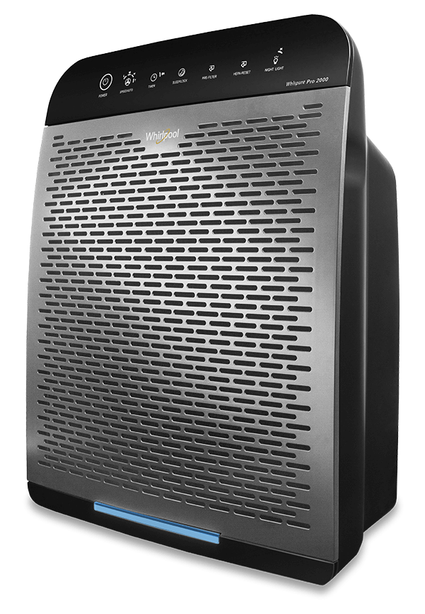 Whirlpool® WPPRO2000 Whispure™ Air Purifier Gunmetal