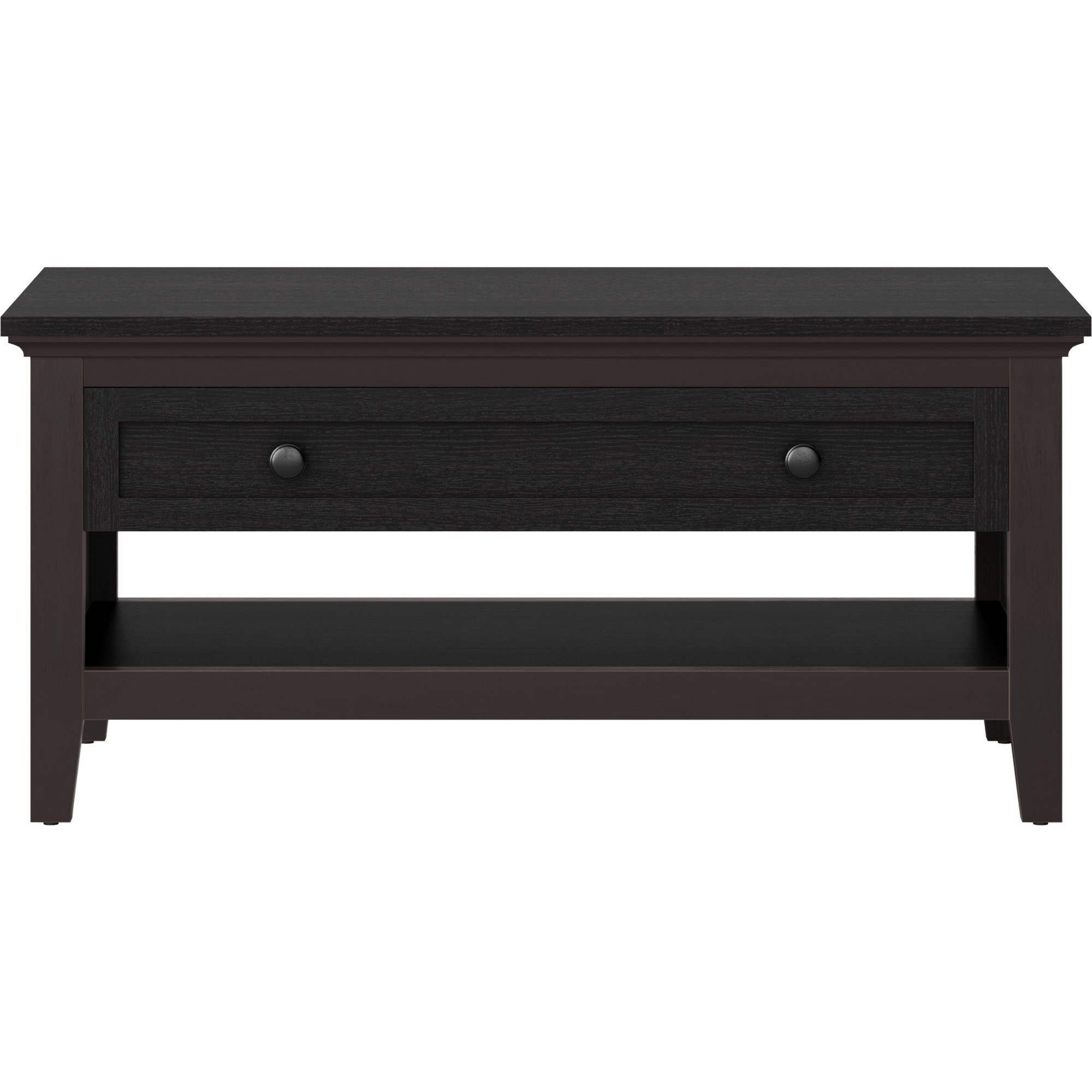 Amazing Carson Coffee Table Espresso Brown Threshold Products Cjindustries Chair Design For Home Cjindustriesco