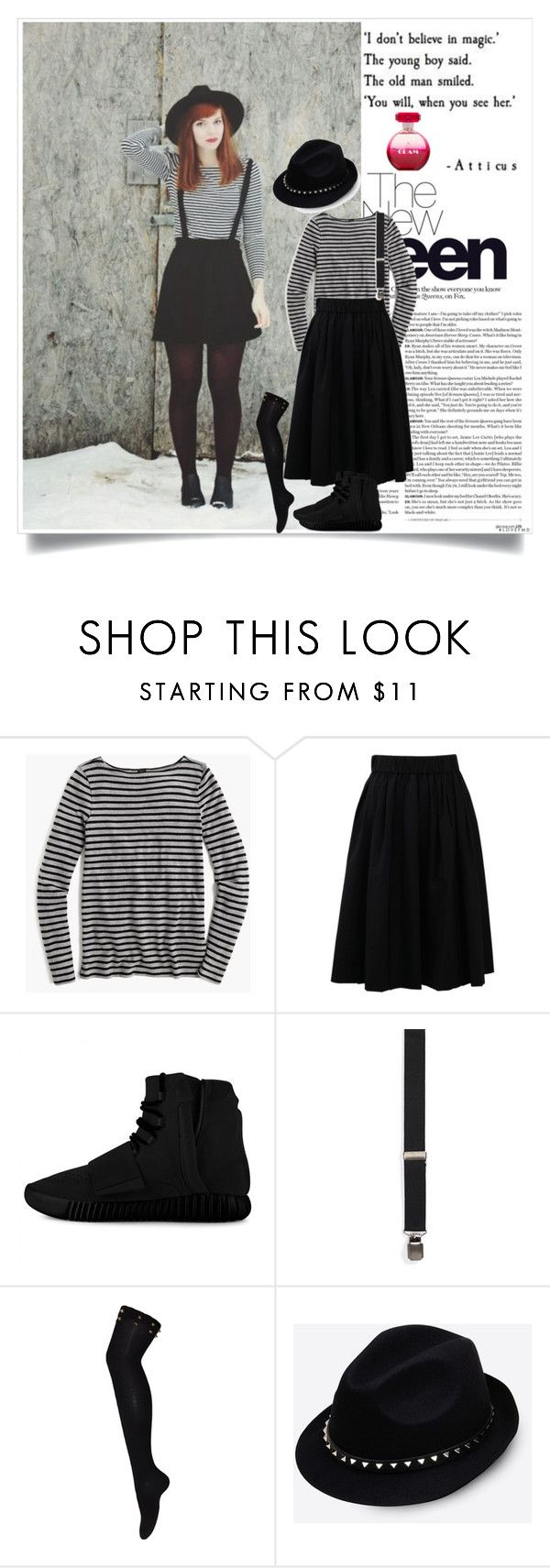 """""""Smileee"""" by bamra ❤ liked on Polyvore featuring J.Crew, Brunello Cucinelli, adidas, Topman, Valentino, women's clothing, women's fashion, women, female and woman"""