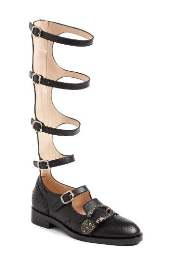 8850c7416 Free shipping and returns on Gucci Gladiator Loafer (Women) at Nordstrom.com.  Smooth Italian leather with traditional broguing at the seams sets the  stage ...