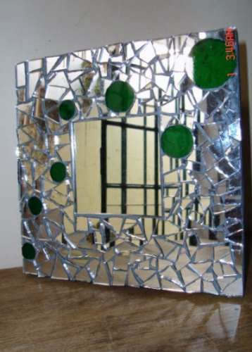 Deco precio especial divino espejo en mosaico for Espejo envejecido precio