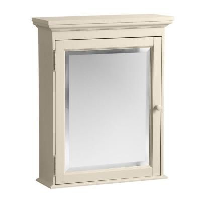 Home Decorators Collection Cottage 23 3 4 In W X 29 In H X 8 In D Surface Mount Bathroom Medicine Cabinet In Antique White Ctac2429 The Home Depot Surface Mount Medicine Cabinet Mirror