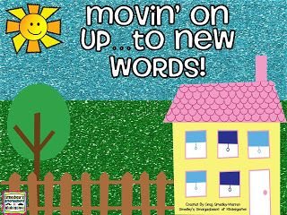 FREEBIE!  Word family activity!  Students manipulate letters to make new words!  A Kindergarten Smogasboard BIG MOVE FREEBIE!