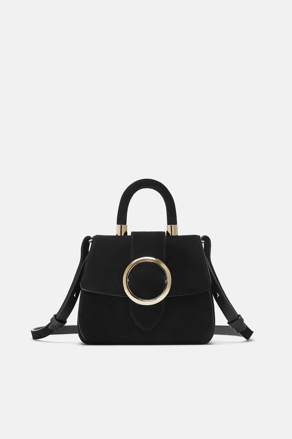 70232d842d Mini city bag with round clasp in 2019 | Clothes | Bags, City bag ...