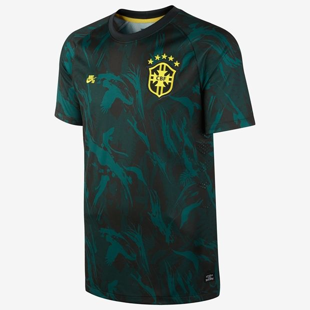 wholesale price new release best choice Nike SB Brazil camo CBF jersey | IMAGERY | Nike sb, Soccer ...