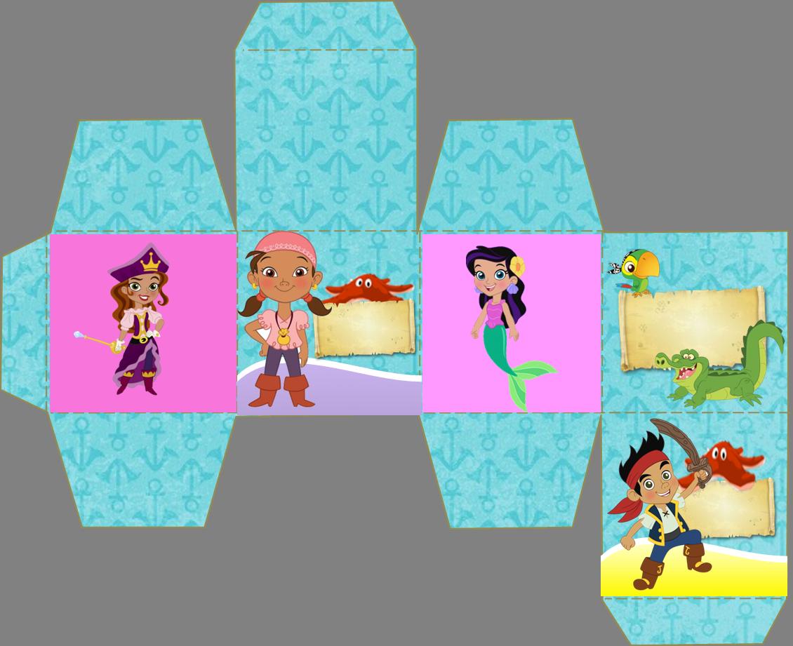 Jake y los Piratas: Kit para Imprimir Gratis. | zeus | Pinterest ...
