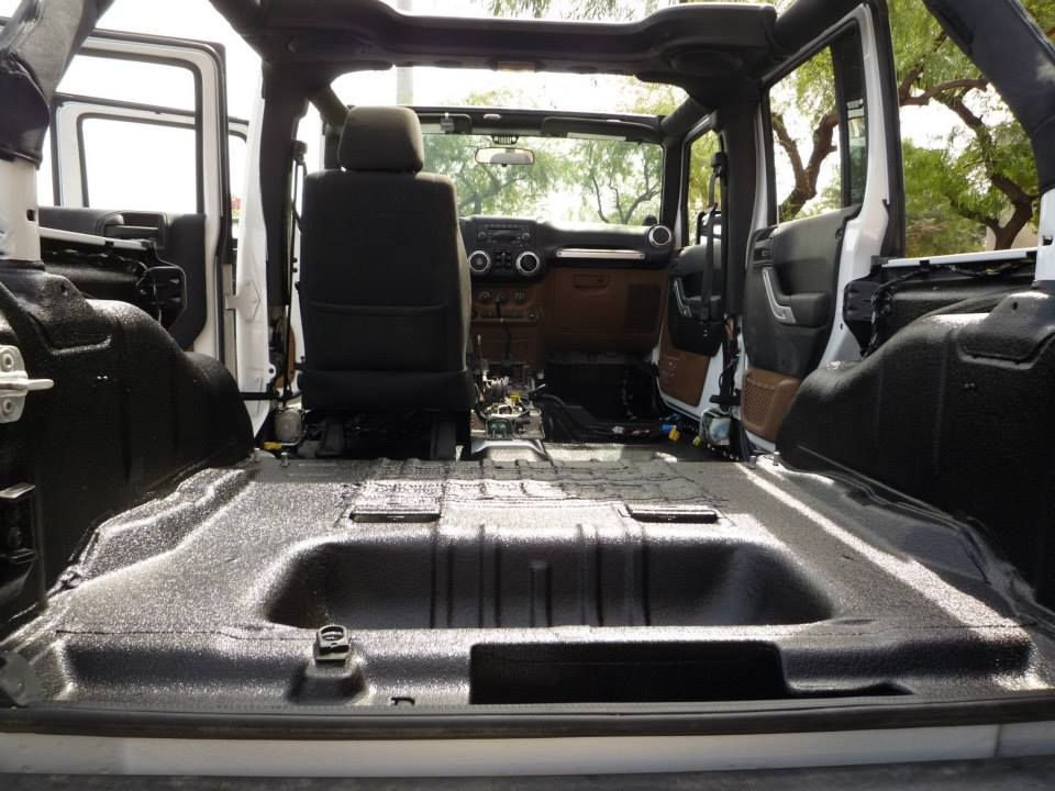 Jeep Interior Lined With Line X By Line X Arizona Jeep Mods Jeep Life Jeep Lover