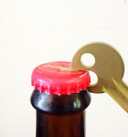 The Simple Bottle Opener Key | Standard Pattern
