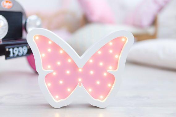 Babyzimmer Nightlight ~ Nightlight butterfly nursery nightlight baby nightlight night