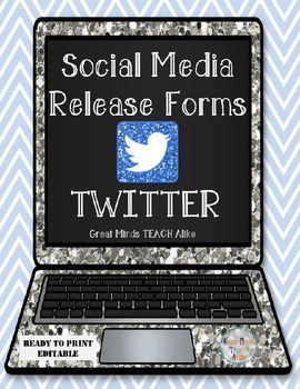 Do you want to use Twitter to create a class page for students and parents to utilize? If yes, this consent form will come in handy!  It gives you permission to use photos of your students and there work.  Have your students get parents to sign at the beginning of the year or during your conference.
