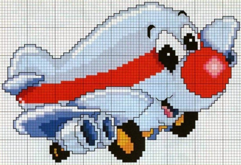 Assorted planes and helicopters...  http://delicadocantinho.blogspot.com.br/2014/08/graficos-ponto-cruz-avioezinhos.html