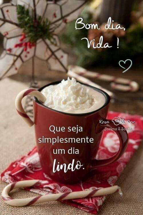 Bom dia Vida 🌞😍❤ | Receitas de café, Café de natal, Ideias