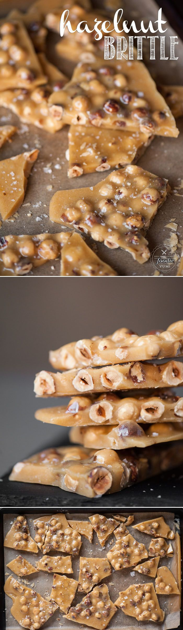 Homemade Hazelnut Brittle is a quick and easy treat that is sure to satisfy any sweet tooth craving, especially during the holidays.