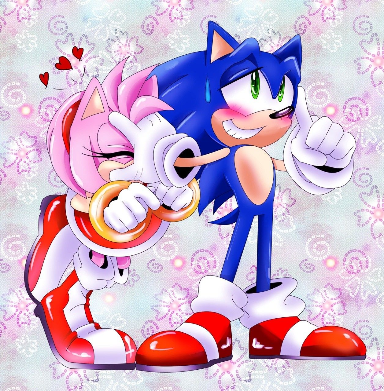 amy rosesonic the hedgehog works archive of our own - HD1256×1280